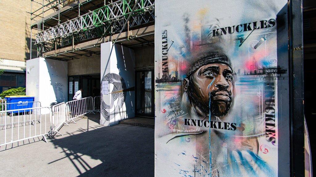mural upamiętniający Frankie'go